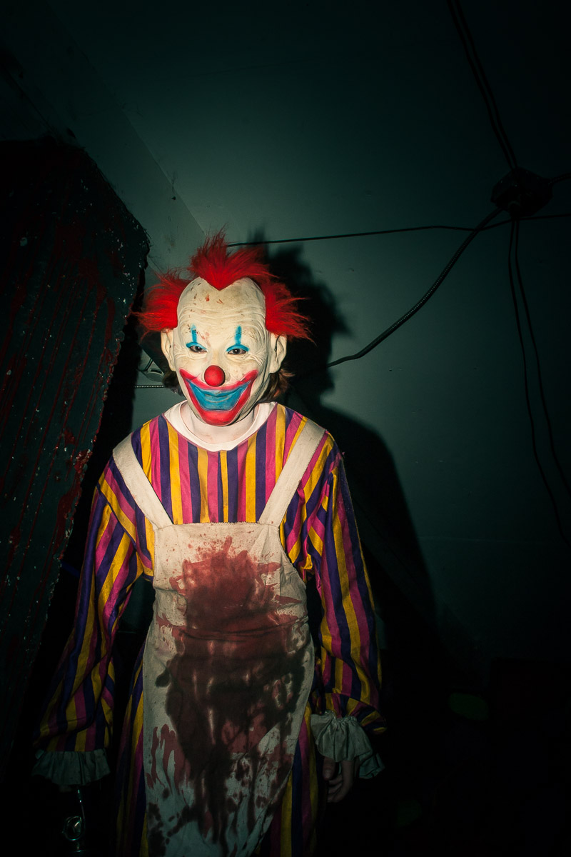 Haunted House Clown