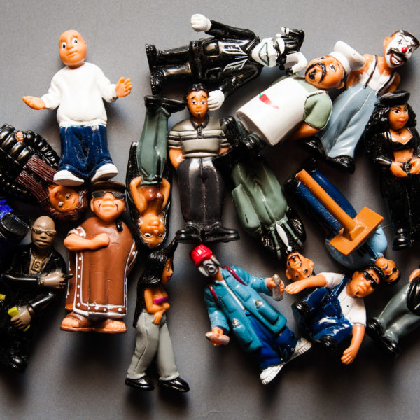 Homies Figurines Photography Print