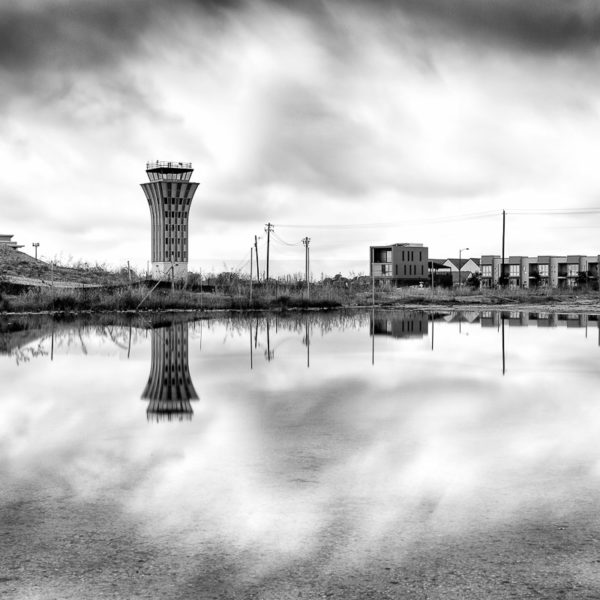 Old Austin Airport Control Tower in Mueller