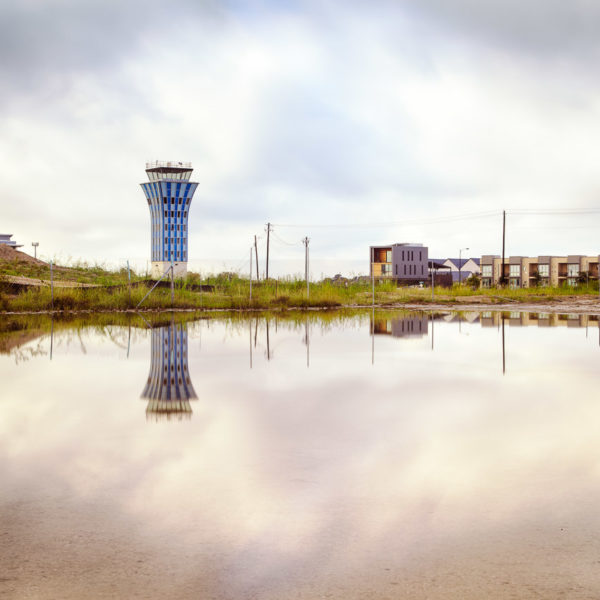 Mueller Airport Control Tower (Color Photo), Austin TX