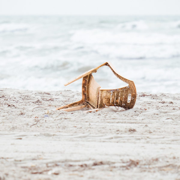 Nomadic Chair (beach trash)