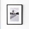 Texas State Capitol Building (south) - Framed 18x24